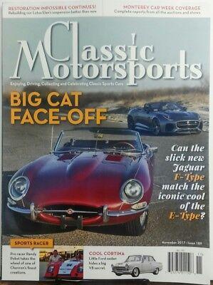 Classic Motorsports Nov 2017 Big Cat Face Off Jaguar F Type FREE SHIPPING (Cat Face Type)