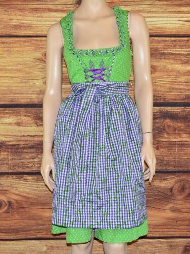 Dirndl dress Bavarian dress Oktoberfest dress Cottagecore dress  Size L