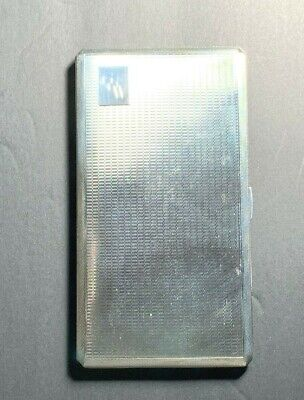 Sterling Silver Cigarette Case - 245.2 grams (M#140)