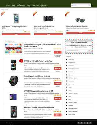 Classified Ads Website Business For Sale Mobile Friendly Design
