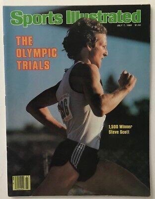 1980 Sports Illustrated Magazine - STEVE SCOTT July 7, 1980 Sports Illustrated Magazine - NO LABEL
