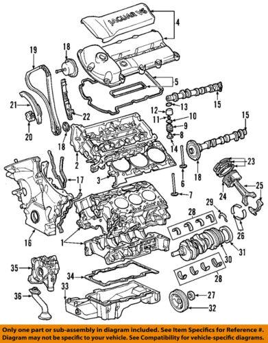 JAGUAR OEM 03-09 XJ8 Engine-Oil Filter C2C41611