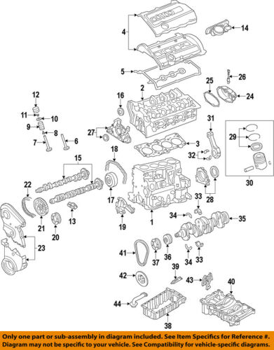 AUDI OEM 05-09 A4 Quattro-Engine Piston Ring 06D198151E | eBayeBay