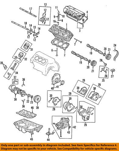 Acura HONDA OEM 07-08 TL-Engine Oil Pan 11200RYEA00 | eBay | Acura Engine Diagram |  | eBay