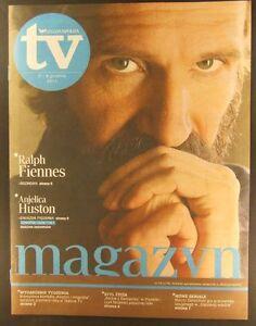 RALPH FIENNES mag.FRONT cover 48/2011 Anjelica Huston,John Lennon - <span itemprop=availableAtOrFrom>europe, Polska</span> - Zwroty są przyjmowane - europe, Polska