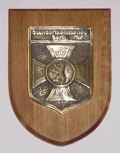 Bundeswehr Wappen Emblem Standortkommando Berlin .........E1279