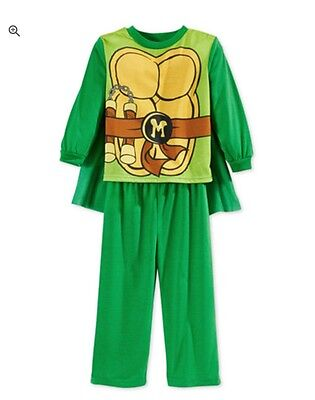 NICKELODEON Teenage Mutant Ninja Turtles Pajamas/Halloween Costume Size 2T - Nickelodeon Halloween Costumes