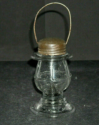 Collection Small Hanging Lantern - Small Glass Candy Container - Early Hanging Barn Lantern