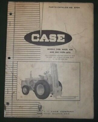 Case 310b M420 430 440 Forklift Tractor Truck Parts Manual Book Oem Original