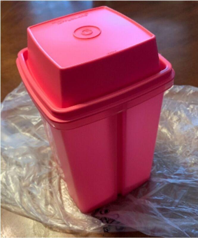 New Tupperware Pick A Deli Fuschia Pink 8 Cups FREE US SHIPPING