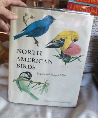 1972 North American Birds by Lorus and Margery Milne - HCDJ