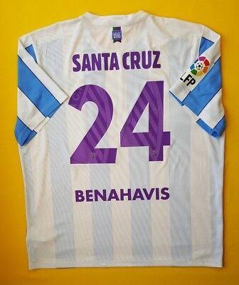 4.8/5 Santa Crus Malaga jersey 2XL 2015 2016 home 644634-105 soccer Nike ig93  image