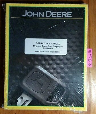 John Deere Greenstar Guidance Parallel Tracking Autotrac Assist Steering Manual