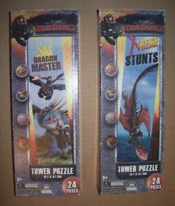 How to Train Your Dragon Jigsaws x2 - NEW