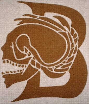 Vintage T-shirt Heat Transfers Lot Of 5  Skull 1970s