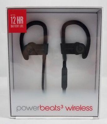 Apple Beats By Dr  Dre Powerbeats3 Wireless Bluetooth In Ear Headphone   Black