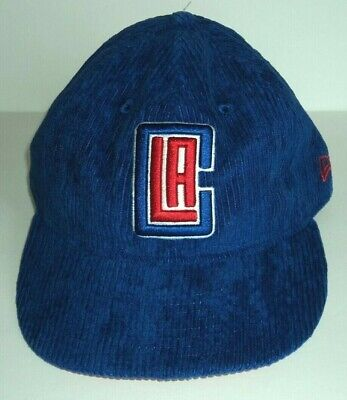 New Era Cord Retro LA Clippers Blue Snapback Hat Mens NEW! for sale  Shipping to Canada
