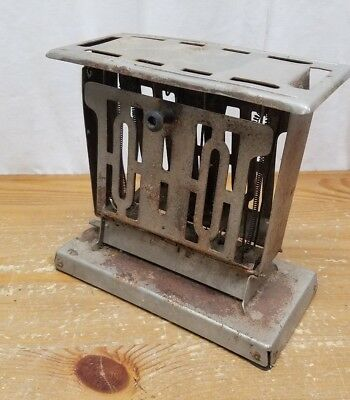 Vintage Antique METEOR Electric TOASTER 2-Slice Manning Bowman and Co. RARE