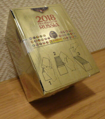 panini FIFA 2018 world cup RUSSIA Switzerland Swiss GOLD EDITION BOX = 100 Packs