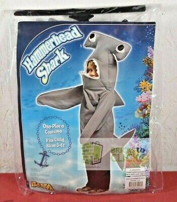 Hammerhead Shark Costume (Halloween Costumes Dress-up Infant Toddler Hammerhead Shark Costume 3T-4T)