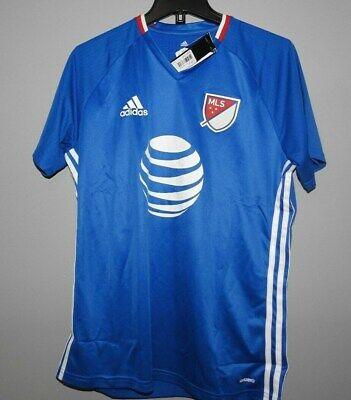 MLS Adidas All Star Training Soccer Football Jersey New Mens Sizes $60