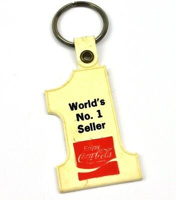 Coca-Cola Coke USA Schlüsselanhänger Key Chain - World's No. 1 Seller