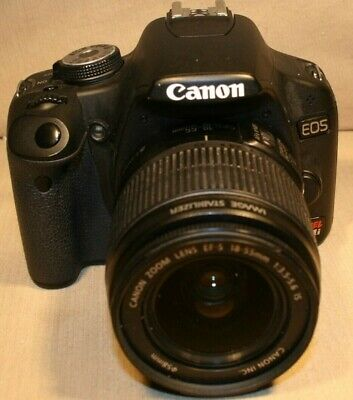 Canon EOS 400 Digital Rebel xTi Camera,Bag,Book,Card - Works Great - Used