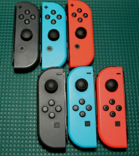 Genuine Nintendo Switch Joy-Con Single Left/Right Blue/Red/Grey - Refurbished