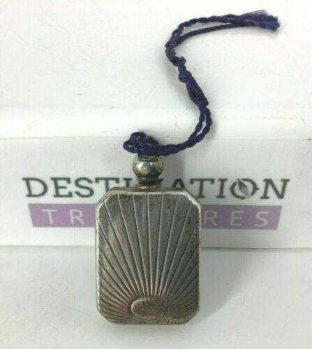 Tiffany & Co. Vintage Sterling Silver Perfume Flask Vanity or Purse
