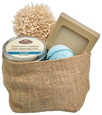 All Natural Gift Basket - Sleepy Gift Basket All Natural made with Essential Oils by Fabulous Frannie