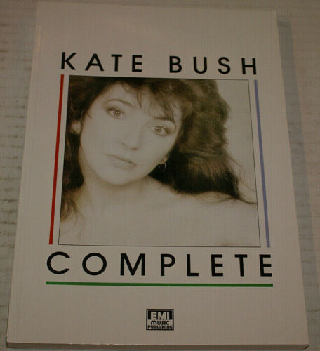 Kate Bush Complete Super Rare Near Mint Out Of Print Tabular Book 1st Ed 1987 Uk