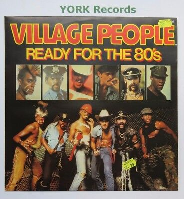 """VILLAGE PEOPLE - Ready For The 80's - Excellent Con 12"""" Single Mercury 9198 505"""