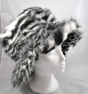 Best Made Toys Furry Black & White Hat Costume Adult Size Halloween Theater - Best Made Halloween Costumes