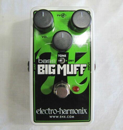 Used Electro-Harmonix EHX Nano Bass Big Muff Pi Distortion Fuzz Overdrive Pedal