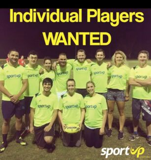 WANTED: Soccer & Touch Footy Players!!