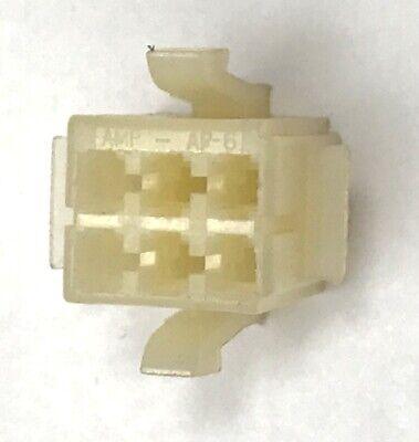 AMP LOK 6p Plug Housing 6 pin AMPLOK Panel Mount