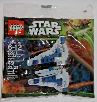 LEGO new PROMO POLYBAG Baggie 30241 STAR WARS Mandalorian Fighter Vehicle ship