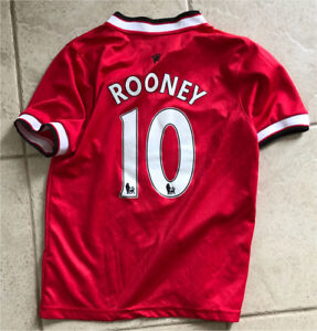 Rooney kids Manchester United jersey