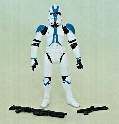 Star Wars Clone Trooper 501st Figure Sith Vader Jedi Temple Assault 2005 Army