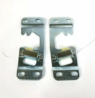 Set Door Latch Striker Plate (Pair) for 1964-66 Chevy / GMC Pickup