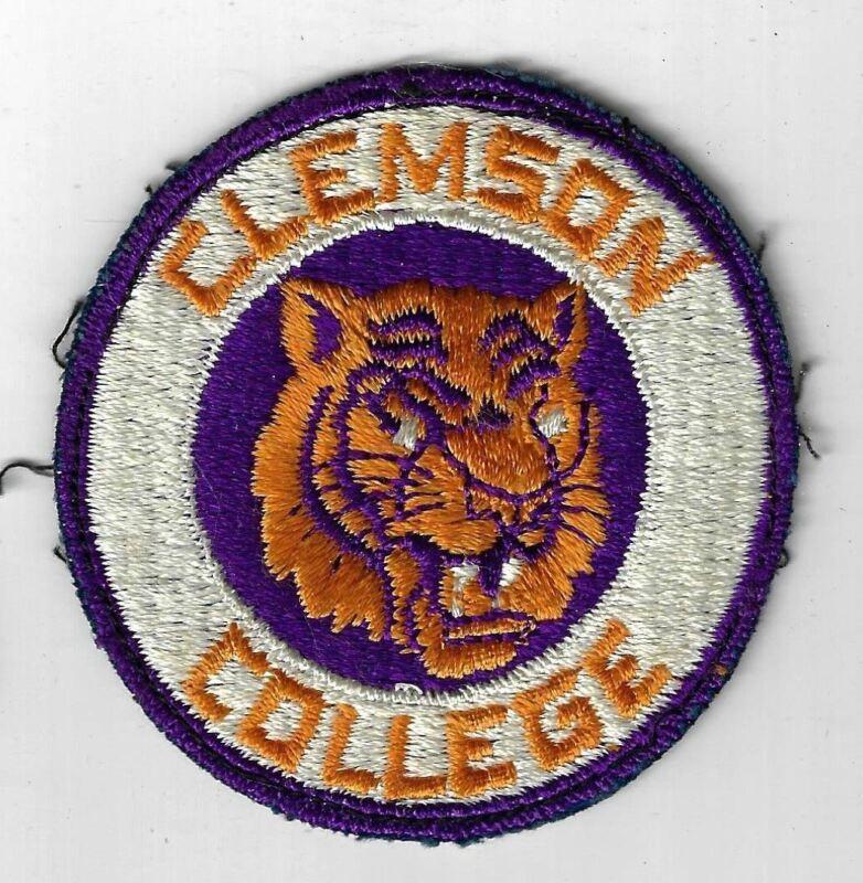 Clemson College Vintage Patch DPR Border [MX-5487]