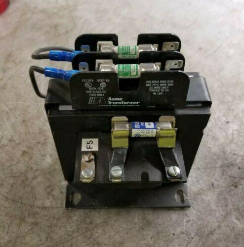 ACME 250 VA CONTROL TRANSFORMER 24 LV 120/240 HV 1 PHASE  TA-2-81146