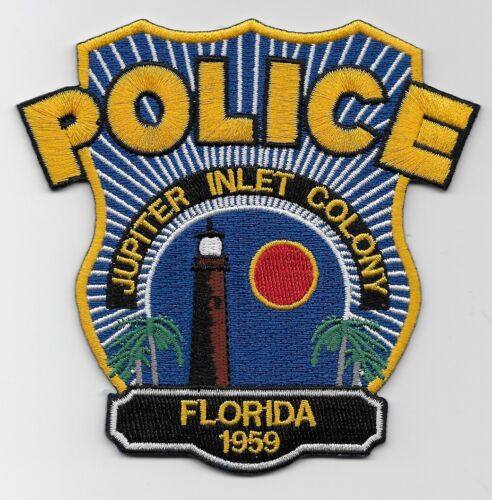 Lighthouse Jupiter Inlet Colony Police State of Florida FL NEW NEAT