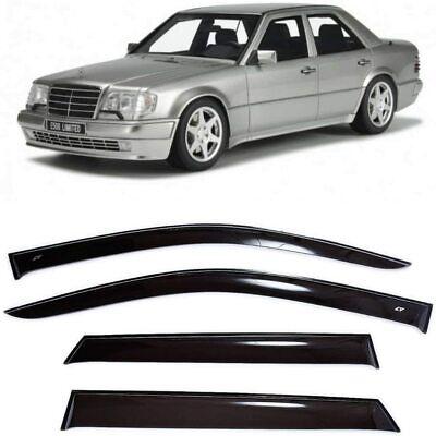Für Mercedes-Benz E W124 84-95 Fenster Seite Visiere Sonne Regen Schutz Vent