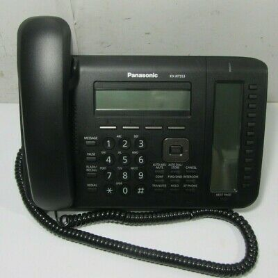 Panasonic Kx-nt553 Ip Phone - Wiredwireless -wall Mountable Telephone