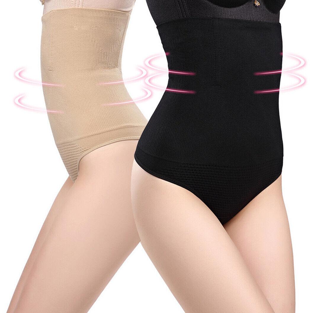 Bauchweg Bodyshaper Unterwäsche Shapewear Figurformer Taillenmieder Miederslip 6