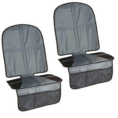 (304) 2 x Kindersitzunterlage XL Rücksitzschoner Sitzschoner Kindersitz