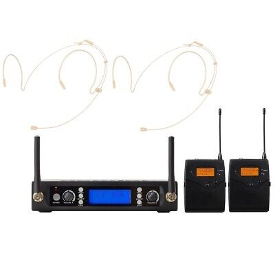 Best Wireless Headset Microphone System Professional UHF Condenser