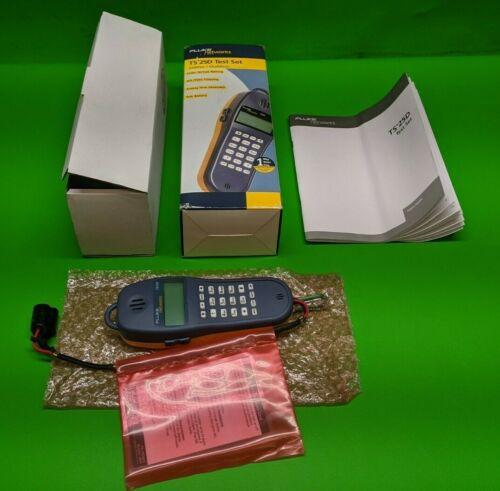 New Fluke Indoor/Outdoor Phone/Data Lines Test Set TS25D