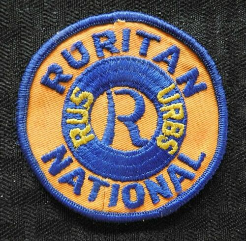 "c1970 ""RURITAN NATIONAL RUS URBS"" DUBLIN VA VIRGINIA JACKET PATCH PULASKI COUNTY"